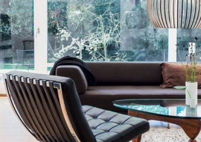 Barcelona black chair