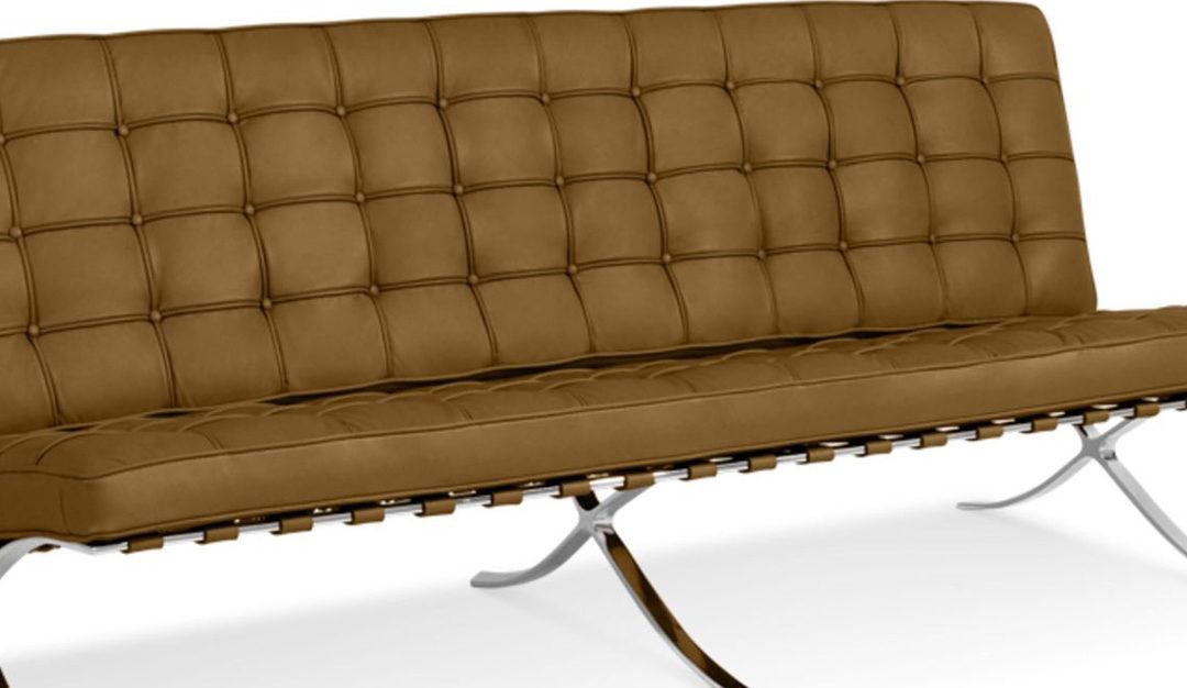 Barcelona fotel, a modern design ikonja