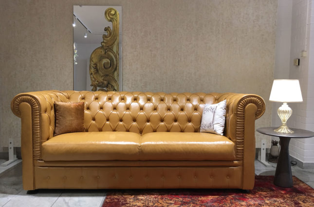 Classic deluxe chesterfield kanapé