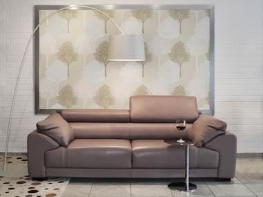 Modern kanapé alacsony háttámla