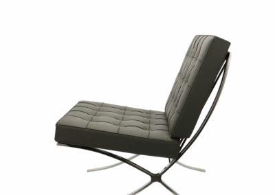 barcelona fotel fekete