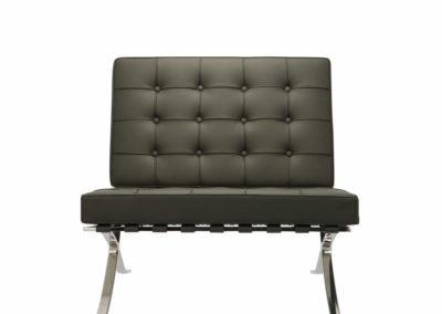 barcelona kanapé fekete