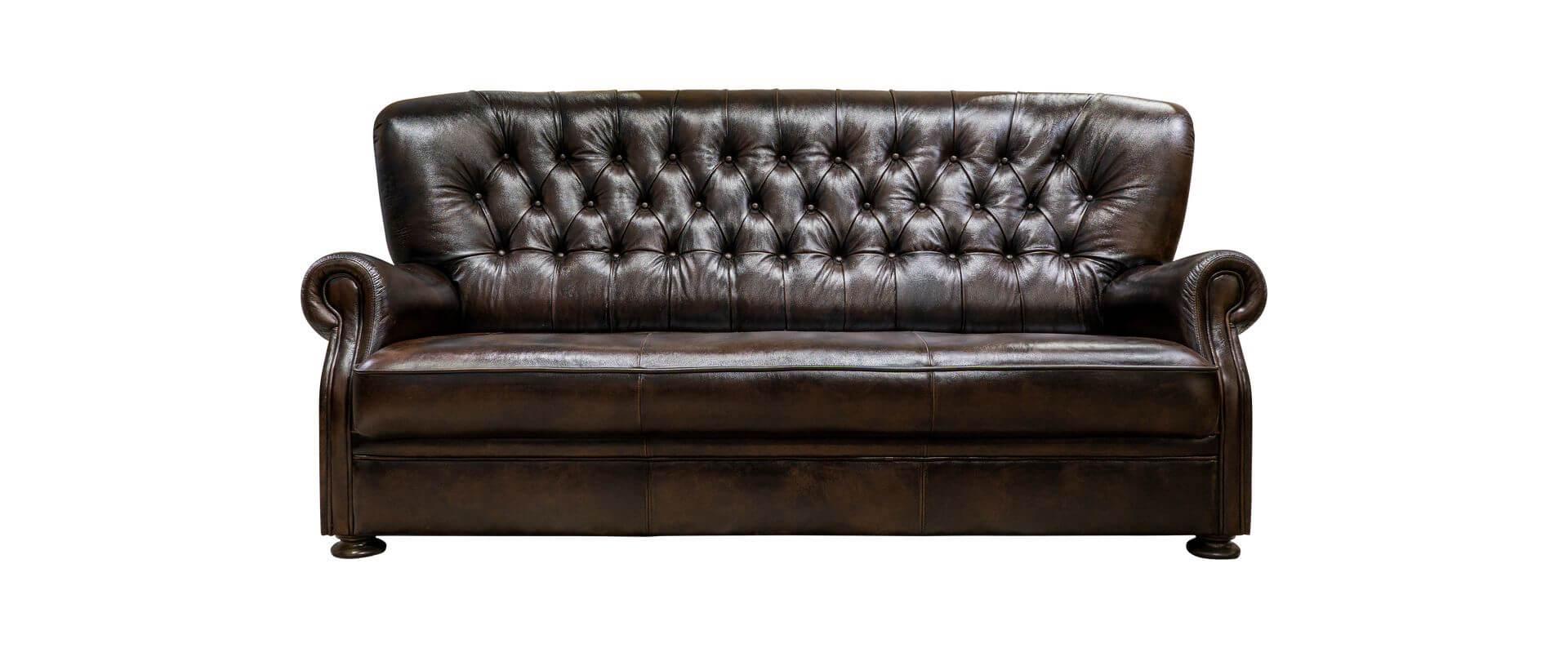Rochester chesterfield bőr kanapé