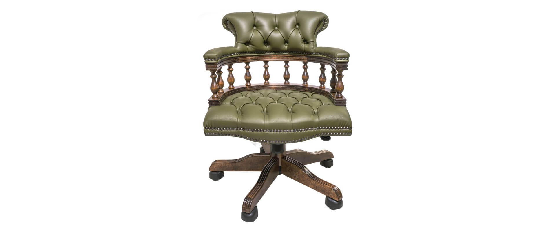 captains chesterfield Chair